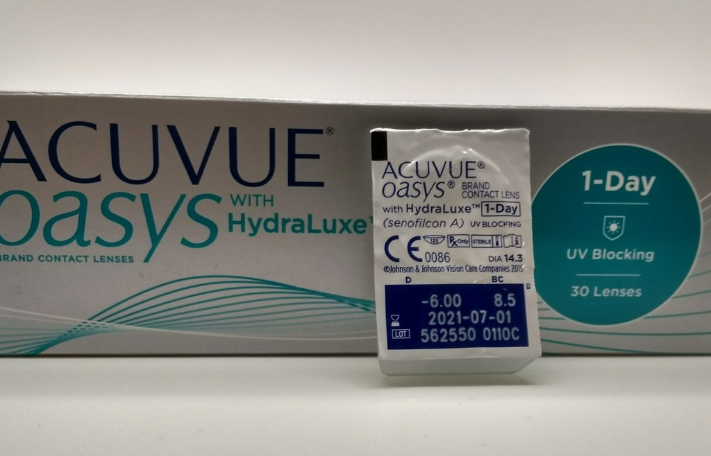 Контактные линзы ACUVUE® OASYS 1-Day (1 линза)