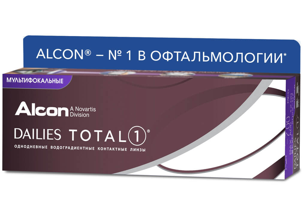 DAILIES TOTAL1® MULTIFOCAL (30 линз)