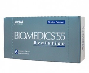Контактные линзы Biomedics 55 Evolution (6 линз)